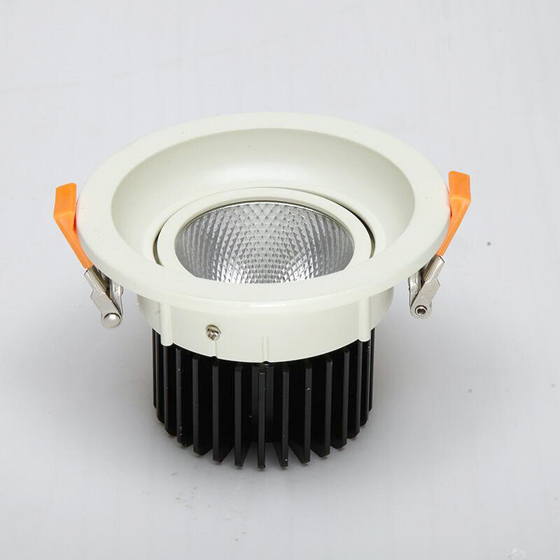 COB LED Downlight Pritemdomi 7W 10W 12W 15W 20W 30W COB LED Panel Šviesos AC85V-265V Embedded COB LED Downlight Vietoje lemputė 20pcs/daug