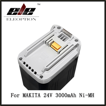 24V 3000mAh 3.0Ah Rechargeable Battery Pack Power Tools Batteries Cordless Drill Ni-MH Battery for Makita BH2430 BH2433