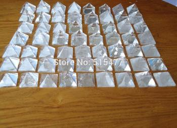 4mm 1kg 16pcs Natural white Quartz Crystal point Pyramid Healing