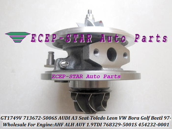 Turbo CHRA Core GT1749V 713672-5006S 768329-5001S 713672 713672-5005S For AUDI VW Jetta Golf Beetl AHF ALH AUY 1.9LTDI